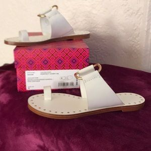 Tory Burch Ravello Studded Sandal - Perfect Ivory